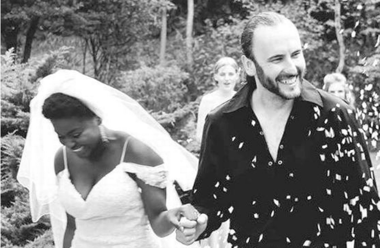 X Factor star Gamu Nhengu ties the knot with her Scots sweetheart