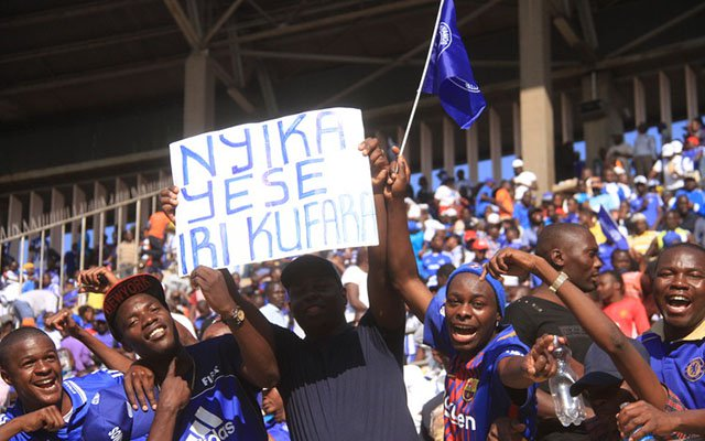 File picture of Dynamos fans celebrating