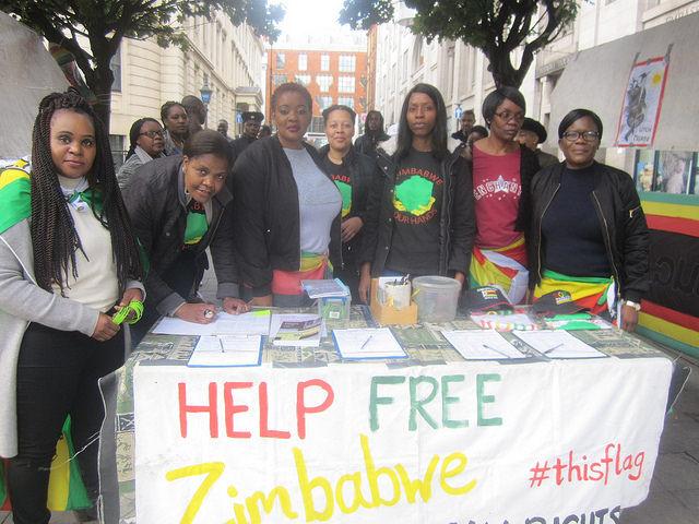 Zimbabwe Vigil in London