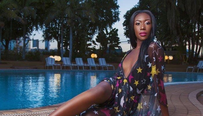 Miss Zimbabwe Chiedza Lorraine Mhosva