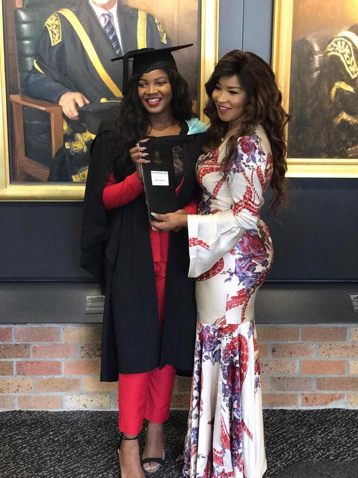 Elizabeth Tsvangirai S Daughter Graduates Pictures