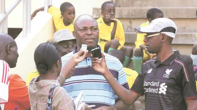 Warriors coach Sunday Chidzambwa