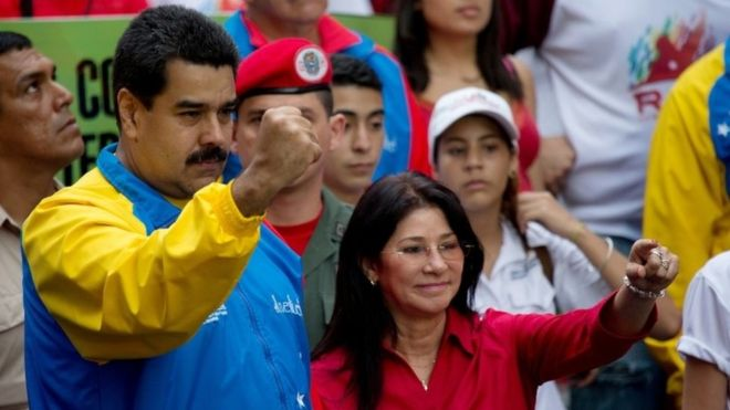 Venezuela first lady's nephews jailed for drugs