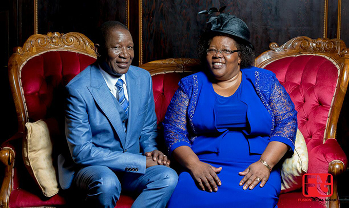 Aspher Madziyire and wife