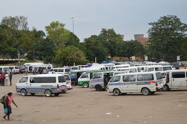Kombis at Basch Street Bus Terminus popularly known as Egodini
