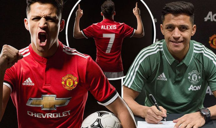 outlet store e64a3 6eae7 Alexis Sanchez: Arsenal forward joins Man Utd in swap with ...