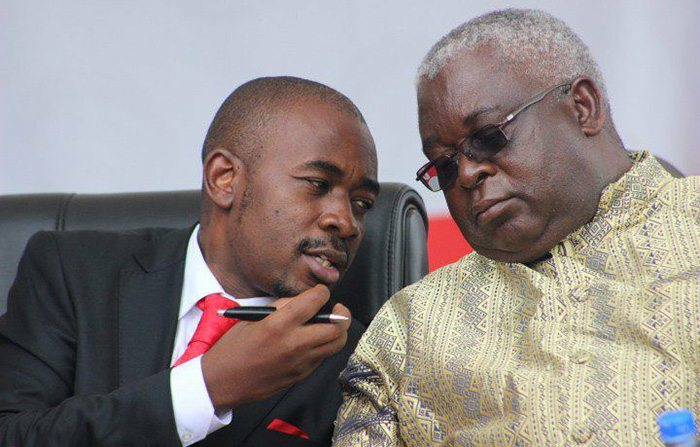Image result for Mudzuri and chamisa