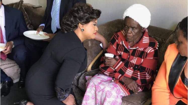 Gogo Tsvangirai had no problem seeing Tsvangirai's ex Locadia Karimatsenga