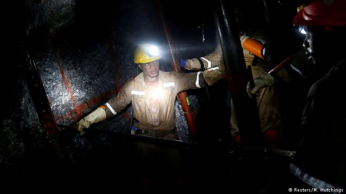 File picture of a mine in South Africa (Picture by Reuters)