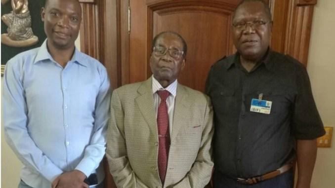 Jealousy Mawarire, Robert Mugabe and Ambrose Mutinhiri