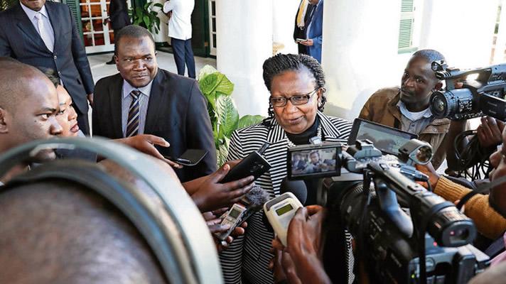Tourism Minister Prisca Mupfumira