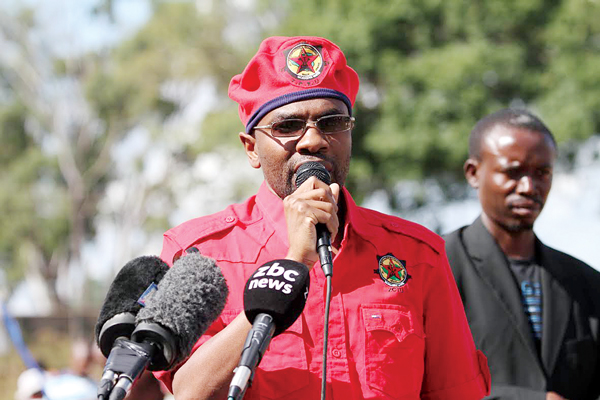 ZCTU president Peter Mutasa (Picture by NewsDay)