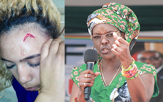 Then Zimbabwean First Lady Grace Mugabe maintained in court papers that the young South African model Gabriella Engels who accused her of assault was the actual aggressor