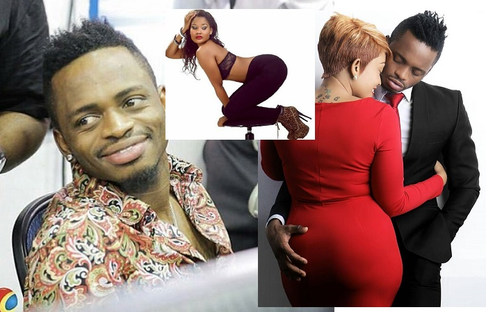 Diamond Platnumz is in trouble for a kiss
