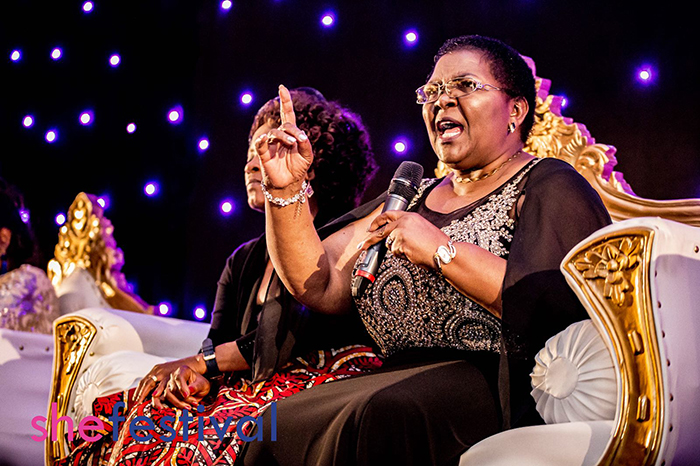 Mai Chisamba at She Festival