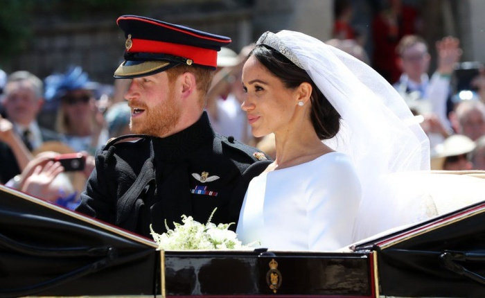 Royal wedding 2018: Prince Harry and Meghan married at ...