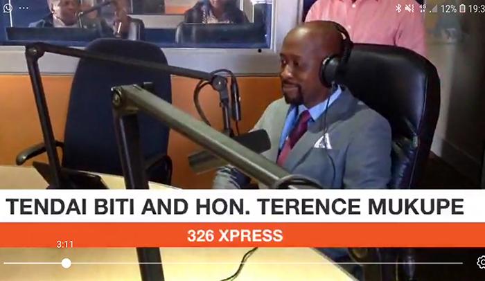 Terence Mukupe vs Tendai Biti