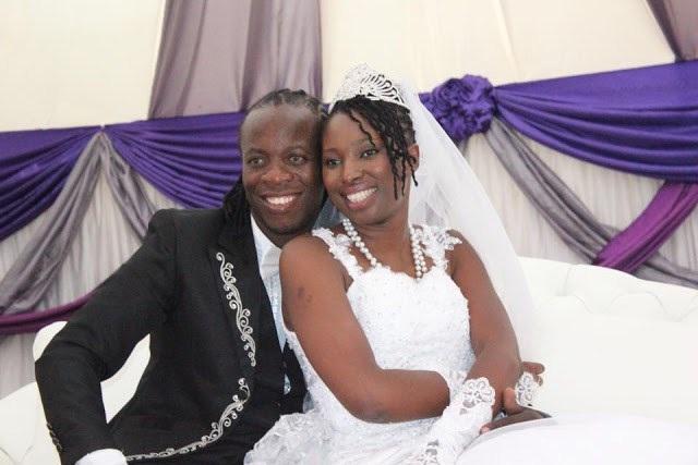 BaShupi and Wadzanai Gumbo in happier times