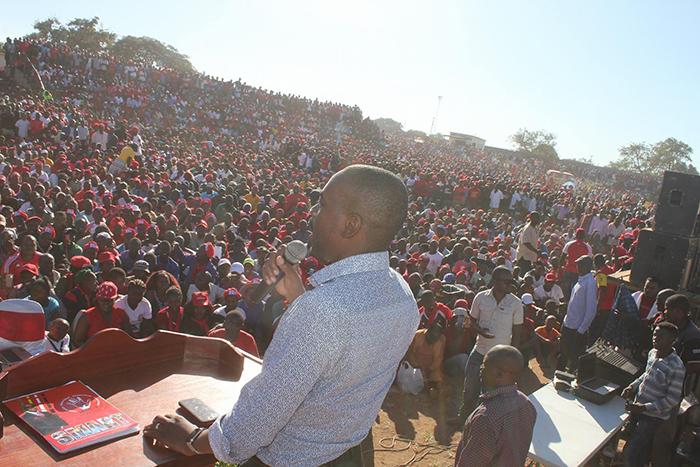 Nelson Chamisa in Chiredzi