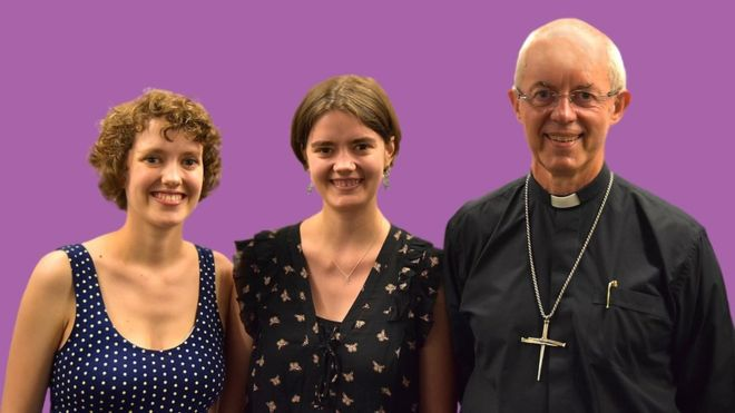 Archbishop of Canterbury talks with daughters on disability and mental health