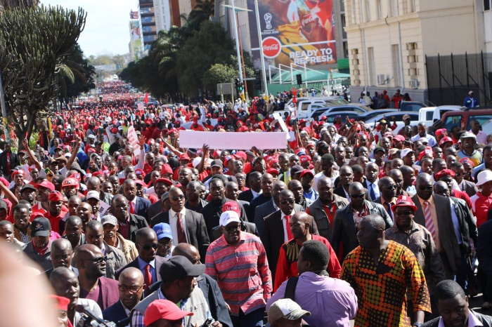 MDC Alliance demo against ZEC