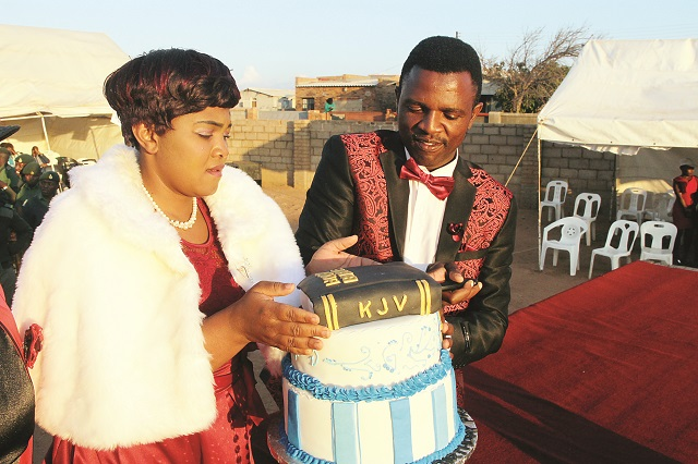 Scenes from Prophet Ngwenya's birthday party on Sunday