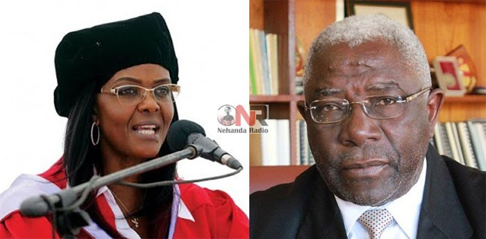 Grace Mugabe and Levi Nyagura