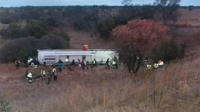 9 Zimbabweans perish in SA bus crash