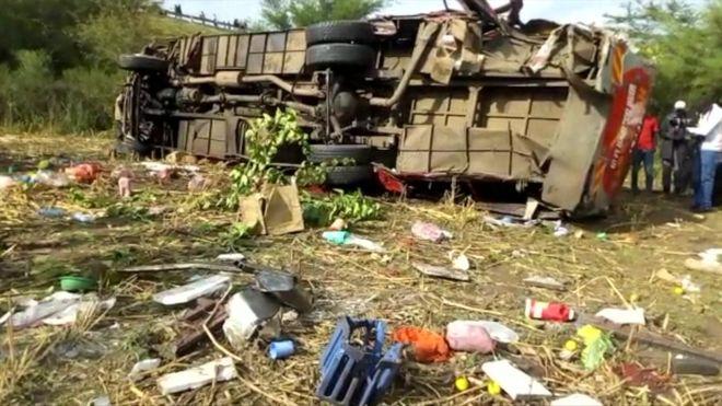 Kenya bus crash kills at least 50 en route to Kisumu – Nehanda Radio