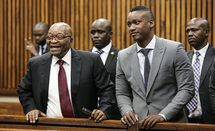 Former President Jacob Zuma Is Pictured In Court In Support Of His Son Duduzane Zuma Nehanda Radio