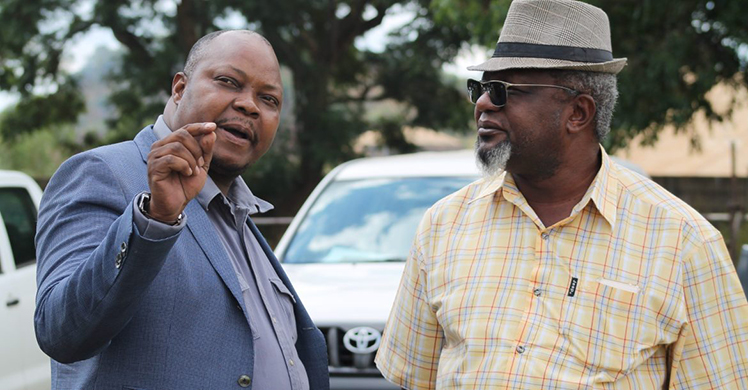 Job Sikhala with Murisi Zwizwai (Picture by Open Parly)