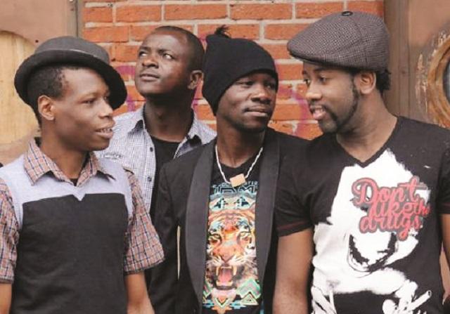 Some members of Mokoomba