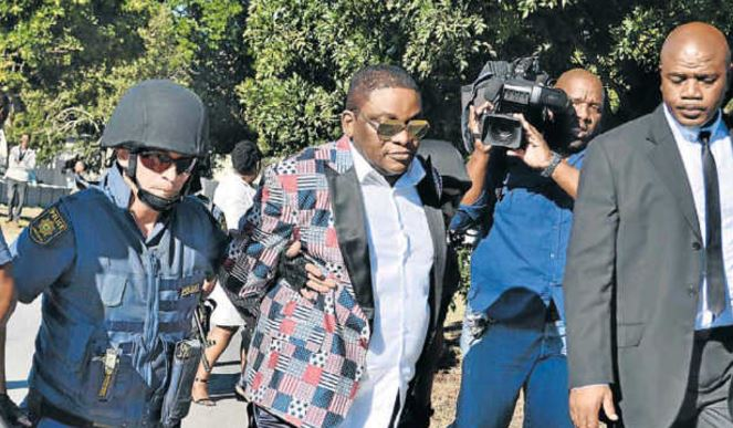 Nigerian pastor, Timothy Omotoso, who is accused of rape