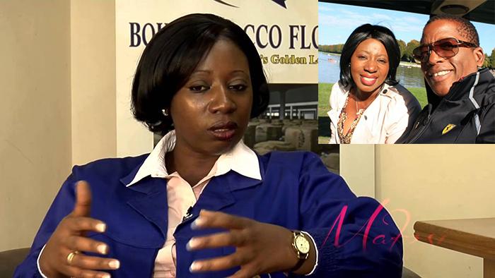 Businesswoman Rudo Boka and husband, Noah Jabulani Mutambanengwe