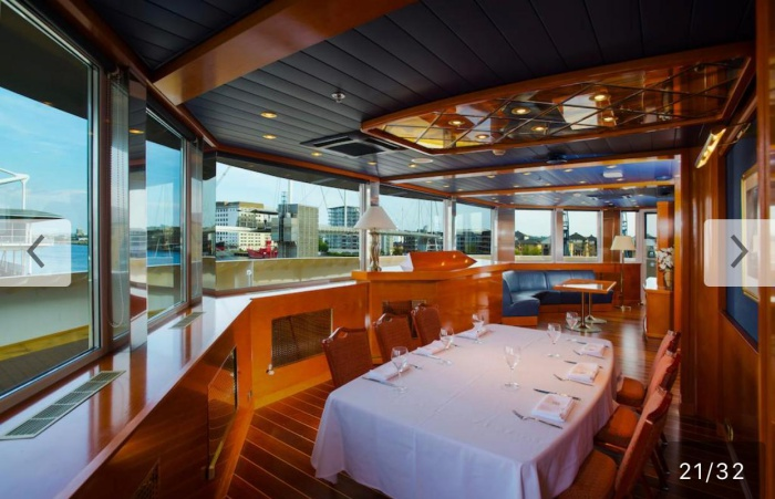 """The Brits Money official launch restricted to only 70 people is on Saturday aboard the luxuryYacht Hotel""""Sunborn London""""."""