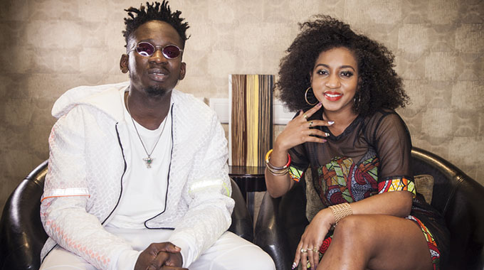 Mr Eazi and Ammara Brown
