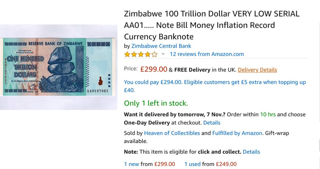 Reserve Bank Of Zimbabwe Exporting Demonetized Bearer Notes Despite