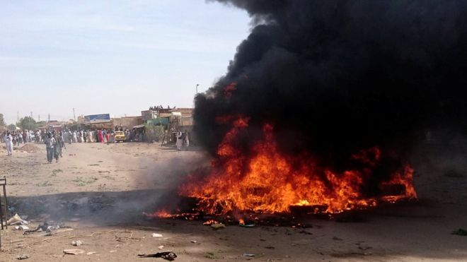 Sudan protests turn deadly as demonstrators clash with ...