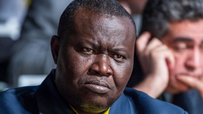 Patrice Edouard Ngaissona described himself as the political co-ordinator of the anti-Balaka