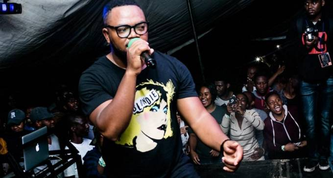 ExQ performs at club Venus in Bulawayo on Saturday