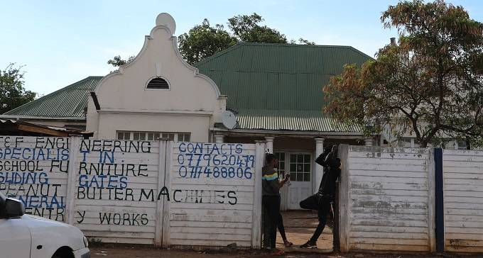 The house along Masotsha Avenue and Joshua Mqabuko Nkomo Street where drugs were reportedly being sold
