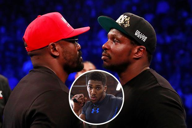a88f6077 Anthony Joshua believes Dereck Chisora will 'whoop' arch-enemy ...