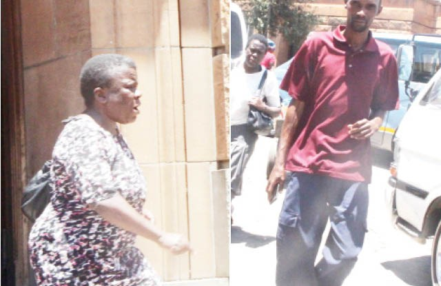 Cathrine Mhiyangwa and husband Health Mutashu