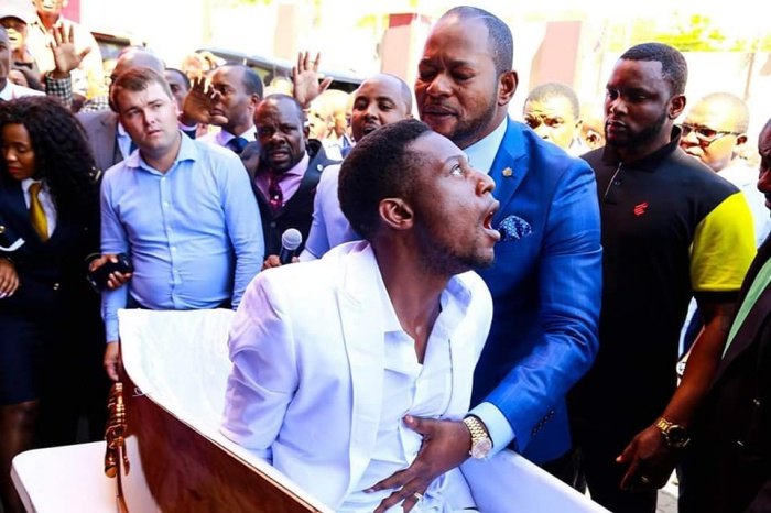 "South Africa based prophet Alph Lukau might be trending over a viral video of him claiming to have raised a Zimbabwean man from the dead on Sunday, but the Funeral Parlour whose hearse was hired has rubbished the claims and is now taking legal action over the ""malicious damage"" to its image."