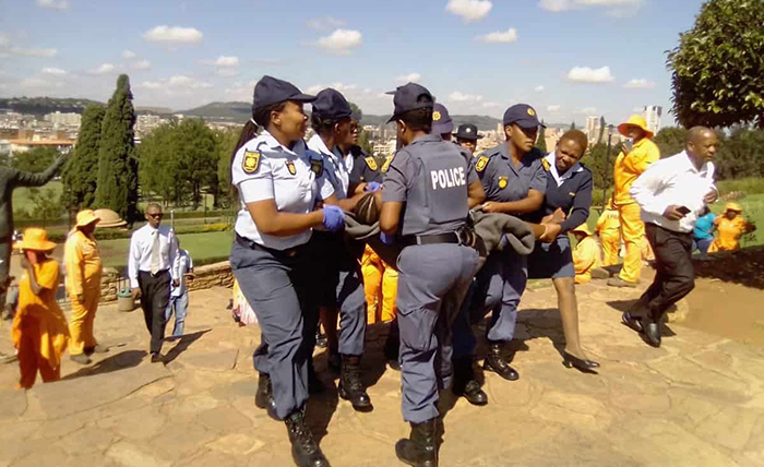 Welshman Ncubes Daughter Arrested For Nude Protest At Union Buildings In South Africa -7766