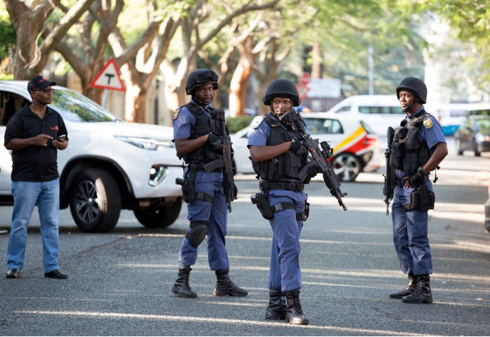 South Africa Security Services Forces
