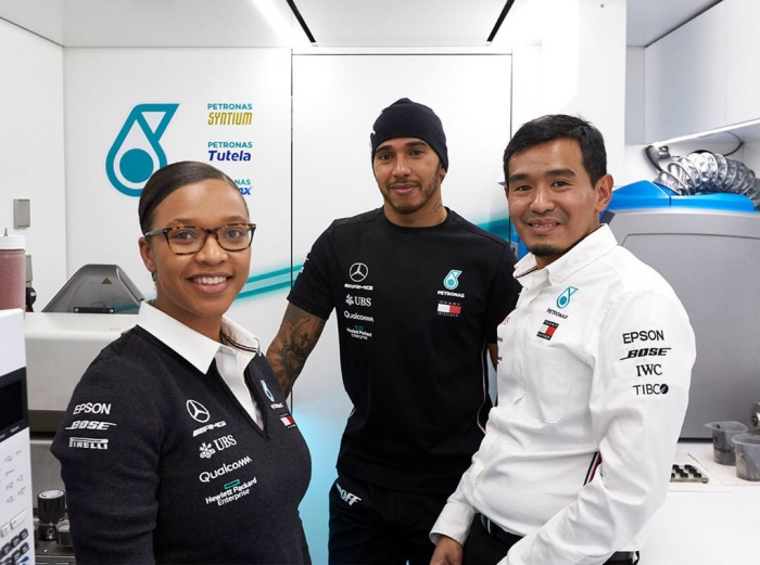 Zimbo chemical engineer joins Lewis Hamilton, Mercedes F1 team