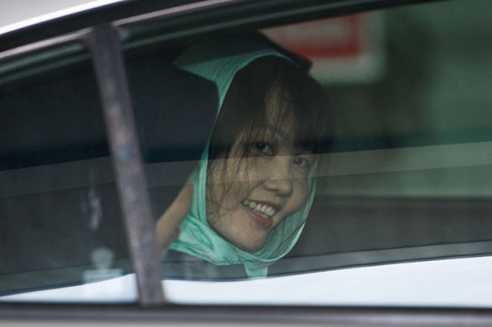 Following diplomatic pressure from the Vietnamese government, Malaysian prosecutors had dropped the murder charge against Doan Thi Huong on April 1 (Picture by AFP/File / Mohd RASFAN)