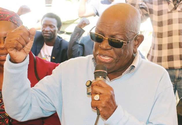 Retired Colonel Tshinga Judge Dube