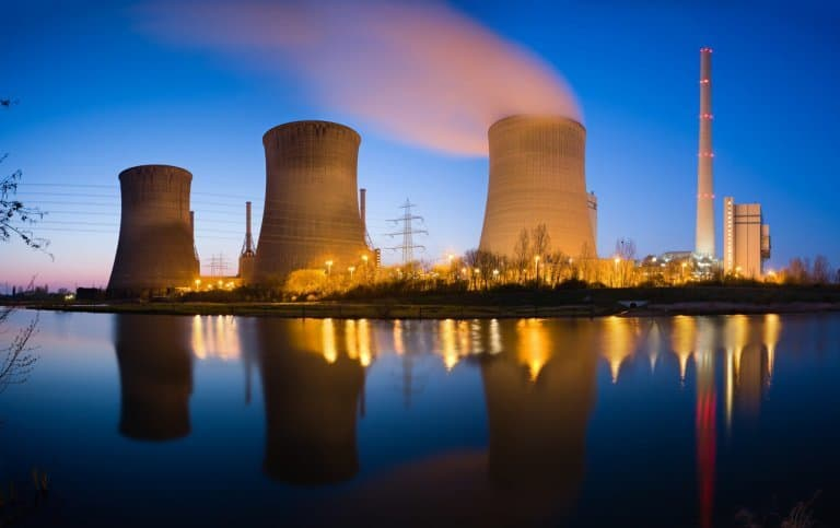 File picture of a coal fired thermal power plant (Getty Images)